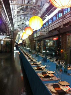Beautiful #SundaySupper event @chelseamarket @serenarockower