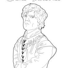 Coloriage Game Of Thrones Tyrion Lannister