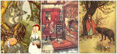 Caperucita Roja según los Hermanos Grimm. | Algún día en alguna parte