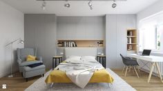 Sypialnia styl Nowoczesny - zdjęcie od Devangari Design - Sypialnia - Styl Nowoczesny - Devangari Design