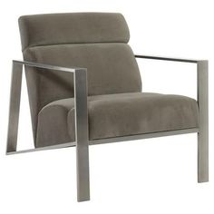 Shop Marco Channel Tufted Lounge Chair from Bernhardt at Horchow, where you'll find new lower shipping on hundreds of home furnishings and gifts. Papasan Chair, Swivel Armchair, Chair Cushions, Upholstered Furniture, Upholstered Dining Chairs, Vintage Industrial Furniture, Industrial Living, Industrial Loft, Industrial Bathroom