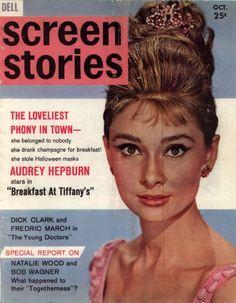 Celebrity Audrey Hepburn Magazine Cover Pictures