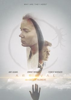 Arrival Poster - Created by Laura Racero Prints available for sale here. Alternative movie poster for Arrival, a film directed by Denis Villeneuve. Digitally painted using a Wacom Intuos pro as main tool. Promotional pictures used as reference and...