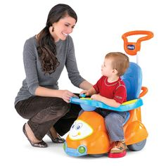 CHICCO JEŹDZIK CHODZIK PCHACZ BUJAK 4w1 QUATTRO POMARAŃCZOWY 607030 4 In 1, The 4, Jennifer Love Hewitt, Toddler Activities, Baby Car Seats, Orange, Children, Amazon, Games