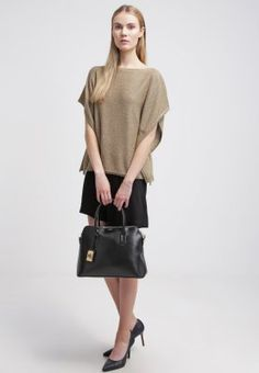 Lauren Ralph Lauren BASILA - Jumper - antique gold - Zalando.no