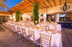 Luxury California Wedding at Bougainvillea - MODwedding