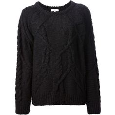 IRO chunky knit sweater found on Polyvore