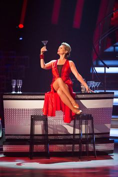 Fiona Fullerton In Week 1 Of Strictly Come Dancing 2013