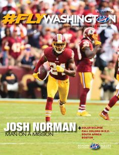 As the leaves change color and the temperature cools, autumn settles in. Kids head back to school and work projects pick up steam. Fall is football and rediscovering your favorite sweater. Speaking of football, we had a great time getting to know our cover subject, Josh Norman of the Washington Redskins. Josh is not only a terrific athlete but he's generous and determined to help local kids pursue their dreams.