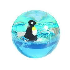 Floating Penguin Rbber Ball 1 3 4 Diameter Penguins Penguin Theme Bouncy Balls