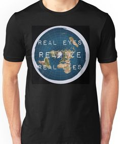 Flat earth flat is fact Unisex T-Shirt
