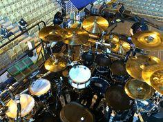 Keith Stix Mc Jimson's set up. Dope! (Ariana Grande's drummer) www.facebook.com/stixthedrummer