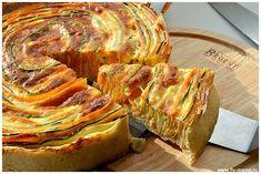 Пошаговый рецепт пирога с цукини и морковью | Четыре вкуса