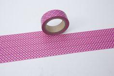 Tape BLÜTE BLUME rosa pink  von washitapes auf DaWanda.com