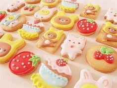 rilakkuma and korilakkuma cookies!