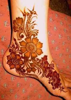 mehendi, henna, design, feet, ideas
