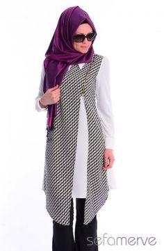 Modahanne Tesettür Tunik 0807B-02 Krem Modest Fashion, Fashion Outfits, Womens Fashion, Big Size Fashion, Moslem Fashion, Stylish Hijab, Street Hijab Fashion, Modest Wear, Islamic Fashion