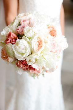 Perfect peonies | Photography: Henry Photography - henryphotography.com  Read More: http://www.stylemepretty.com/2015/03/26/classic-spring-wedding/