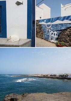Fuerteventura, El Cotillo, petit village de pêcheurs