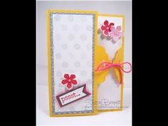 """Part of the """"WOW, That's Cool Video Series. Video matches my DOstamper STARS Thursday Challenge Color My World DSC#084. A complete supply list can be found on my blog @ """"http://craftyandcreativeideas.blogspot.com/2014/05/scallop-tag-topper-card-sending-good.html"""