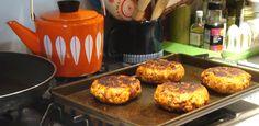 Social nesting's turkey and chorizo burgers!