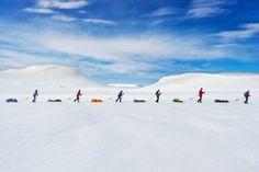 © Kai-Otto Melau/National Geographic Photo Contest La gara nella pianura di Hardangervidda Mountainplateu che ripercorre le esplorazioni di Roald Amundsen in Norvegia.