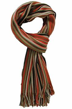 Schal, Strickschal, gestreift, khaki, rost, schwarz, weiß, braun, 100% Wolle Rotfuchs http://www.amazon.de/dp/B00O1XCBX6/ref=cm_sw_r_pi_dp_0Z6vub1PQ5P9F