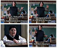 School Of Rock wish I had this class