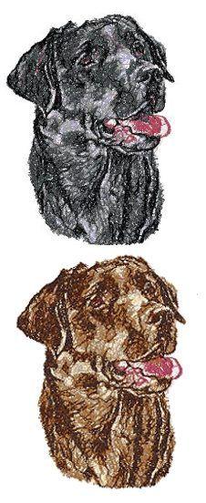 Advanced Embroidery Designs - Labrador Retriever.