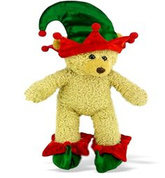 3ae4b38d3678 Teddy Bear Clothes fit Build a Bear, Elf Hat & Shoes Teddy Clothing. Build