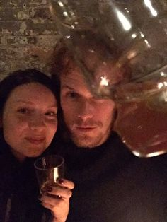 Sam heughan caitriona balfe sam heughan and pictures of on pinterest