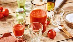 Lust auf einen würzigen Mexikaner Shot ohne Alkohol? Dafür brauchst du Tomatensaft, einen Schuss MAGGI Würze, etwas scharfen Tabasco und dann alles mit Salz und Pfeffer abschmecken.