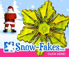 Snow-FAKES.com, Home of the Yellow Snowflake!
