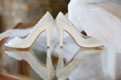 #shoes #wedding Handmade bridal shoes