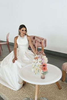Photo from Lisa Brown Styled Shoot collection by Alecia van Aarde Brown Fashion, Sd, One Shoulder Wedding Dress, Wedding Dresses, Inspiration, Collection, Style, Bride Dresses, Biblical Inspiration