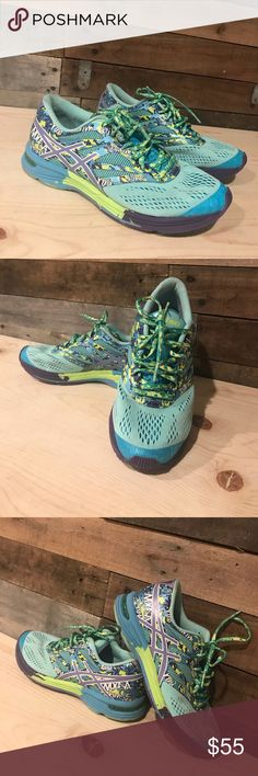 ASICS gel-nooses tri 10 Used 1 time  Fun shoe  Extremely comfortable  Pet and smoke free home Asics Shoes Athletic Shoes