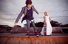 Sunday Wedding Details ♥ SKATEBOARD. |