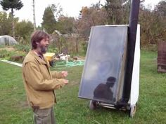 solar food dehydrator Refrig   / dryer w bio-track! how to tutorial