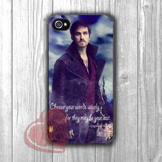 Once Upon a Time Captain Hook Cool Quote - zdi for iPhone 4/4S/5/5S/5C/6/ 6+,samsung S3/S4/S5,samsung note 3/4