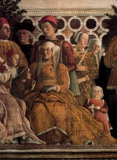 Andrea Mantegna - Barbara of Branderburg and Dwarf Renaissance Artists, Renaissance Paintings, Italian Renaissance, Sculpture Romaine, Andrea Mantegna, Examples Of Art, Italy Art, Italian Painters, Medieval Art