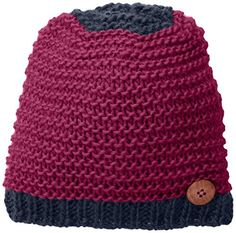 d287c0d4d015c prAna Womens Morgan Beanie One Size Deep Fuchsia   You can get more details  by clicking