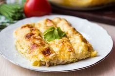 Cannelloni mit Hack-Käse-Füllung  Eine kräftige Fleischfüllung für Cannelloni, die auch abgewandelt als Lasagne schmeckt. Mit Hackfleisch, Käse und Tomaten.