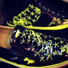 Jimmy Choo men fw14 #jimmychoo #men #menfashionweek #milan #shoes #pop #art #fashionblogger #fashionweek - @daria_kunilovskaya- #webstagram