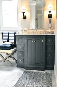 classic • casual • home: ORC Finale: Blue & White Guest Room