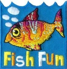 Fish Fun Sew-On Fun Patch