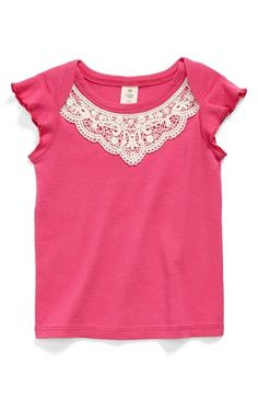 Tucker + Tate Embroidered Cotton Tee (Baby Girls) | Nordstrom