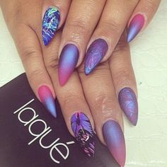 That would look good with a different shaped nail