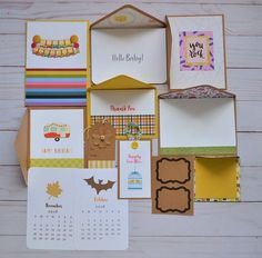 A2 happy mail greeting card storage box open card box with greeting cards set assorted greeting cards stationery happy mail kit one of a kind mailing kit m4hsunfo