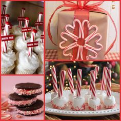 christmas decor and desserts - christmas party