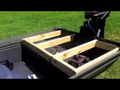 Jon Boat to Bass Boat Conversion - YouTube